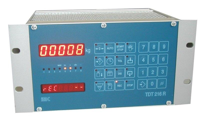 Prikazovalnik - doz. tehtnica TDT 216 R v ohisju za vgradnjo