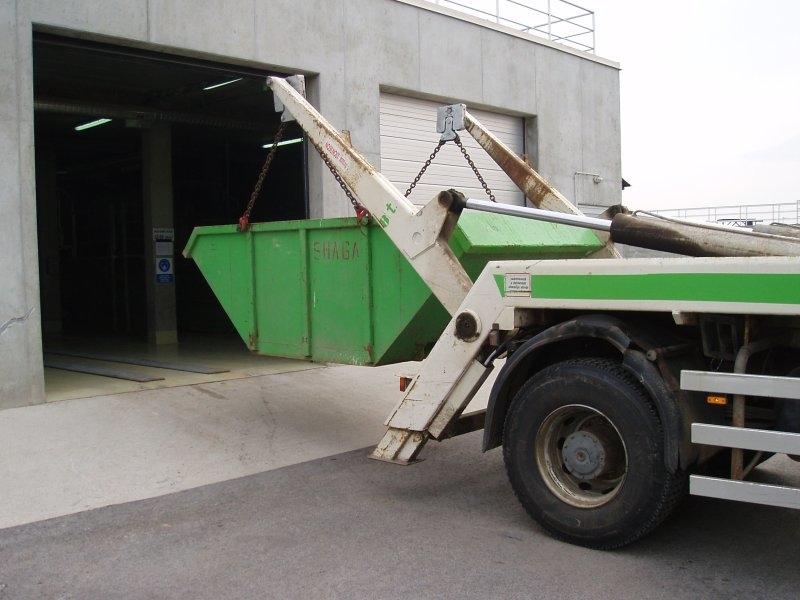 Samonakladalnik ATRIK - tehtanje odpadkov