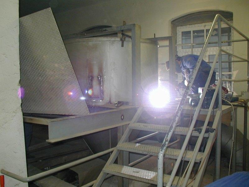 Ena prvih tehtnic IMK - deluje od 1985 leta